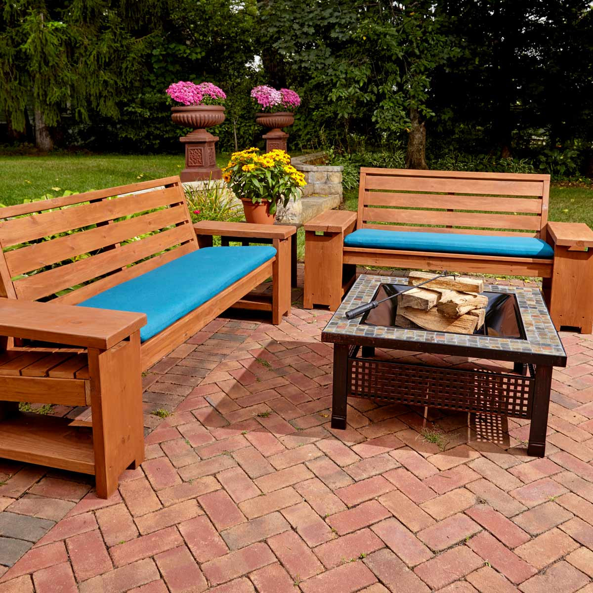 DIY Outdoor Wooden Table  12 Incredible Pieces of DIY Outdoor Furniture — The Family