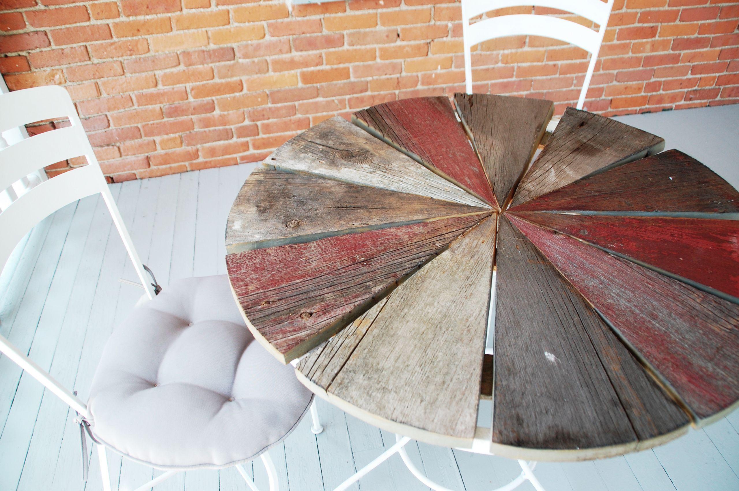 DIY Outdoor Wooden Table  Weekend DIY Project Rustic Wood Patio Table DIYdiva