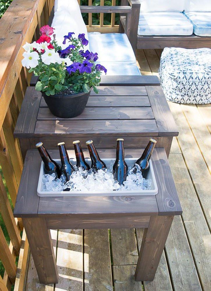 DIY Outdoor Wooden Table  DIY Patio Table 15 Easy Ways to Make Your Own Bob Vila