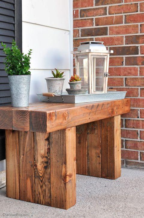 DIY Outdoor Workbench  22 DIY Garden Bench Ideas Free Plans for Outdoor Benches