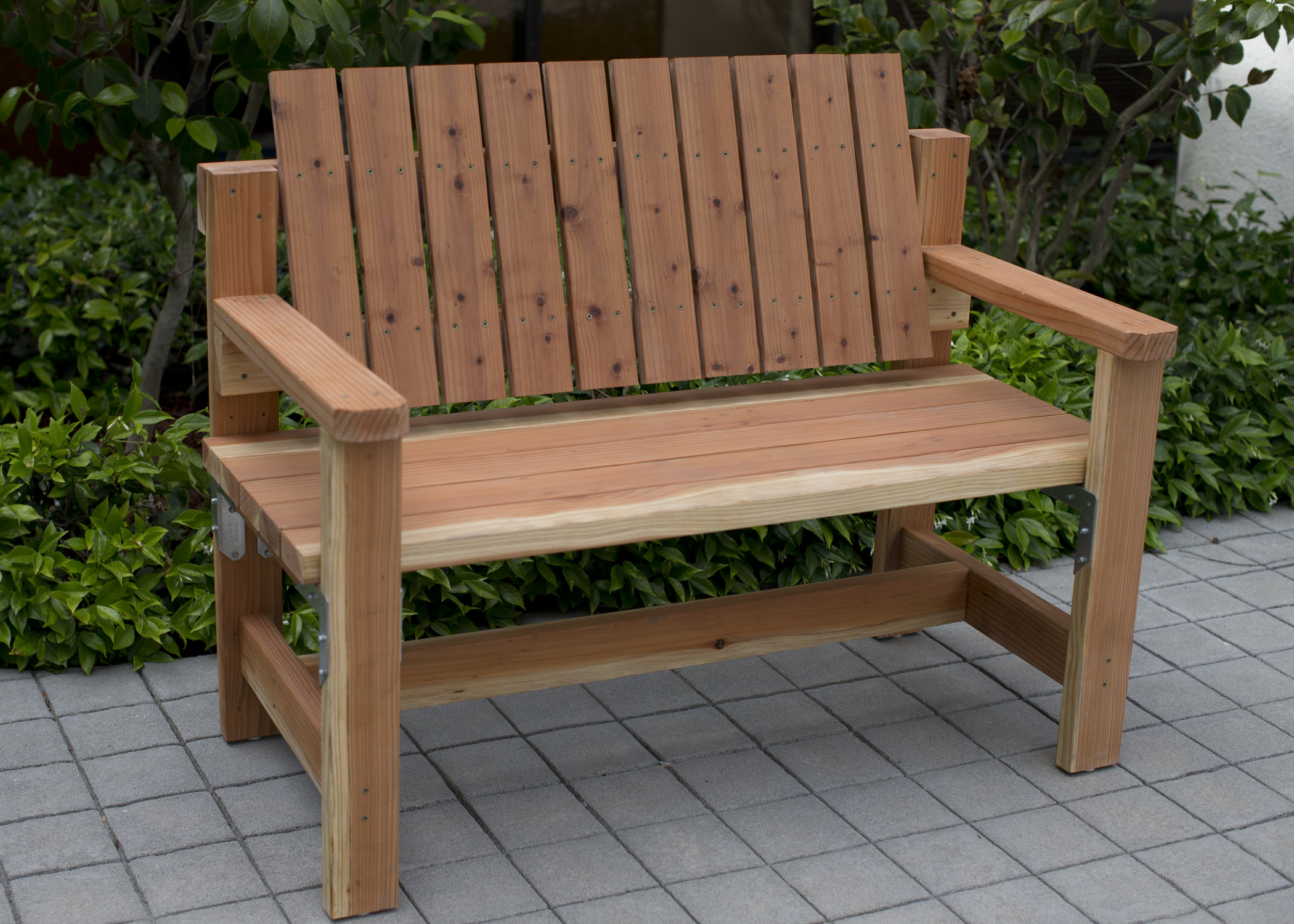 DIY Outdoor Workbench  DIY Garden Bench Preview DIY Done Right