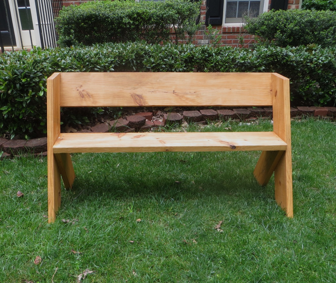 DIY Outdoor Workbench  The Project Lady DIY Tutorial – $16 Simple Outdoor Wood