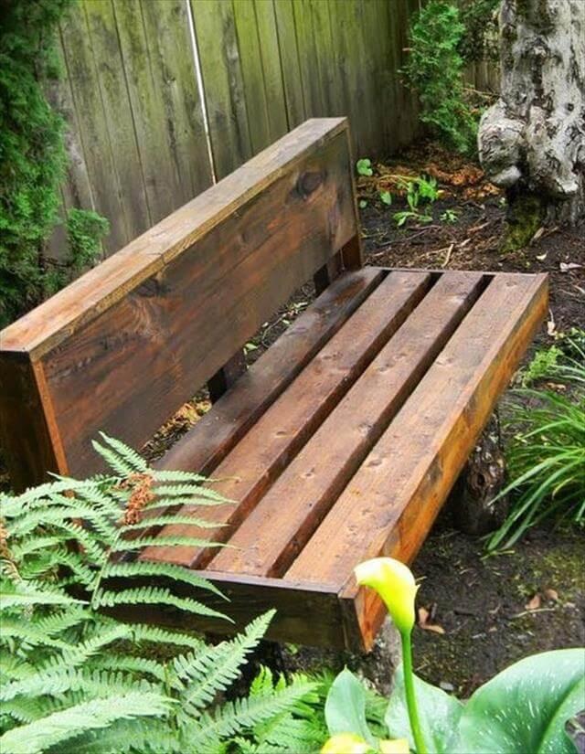 DIY Outdoor Workbench  11 DIY Outdoor Table And Bench Design