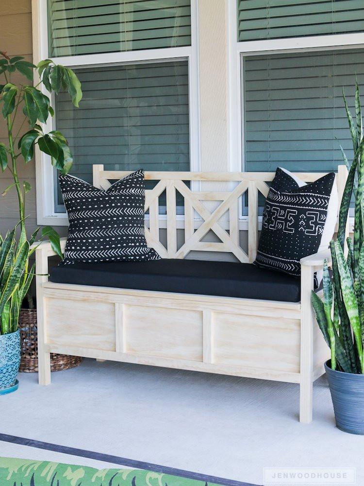 DIY Outdoor Workbench  DIY Outdoor Furniture 10 Easy Projects Bob Vila