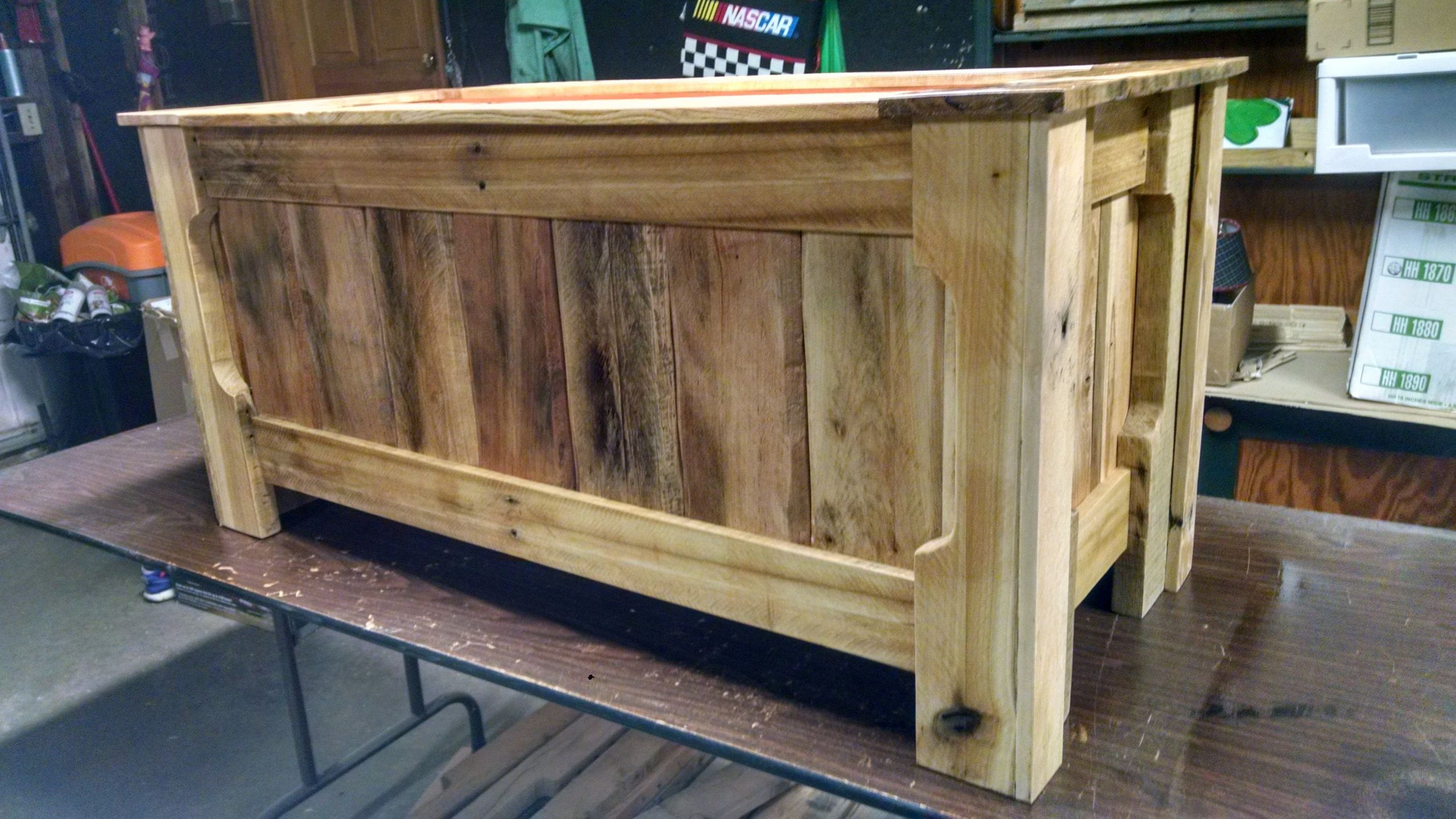 DIY Pallet Toy Box  Pallet Wood Toy Box RYOBI Nation Projects