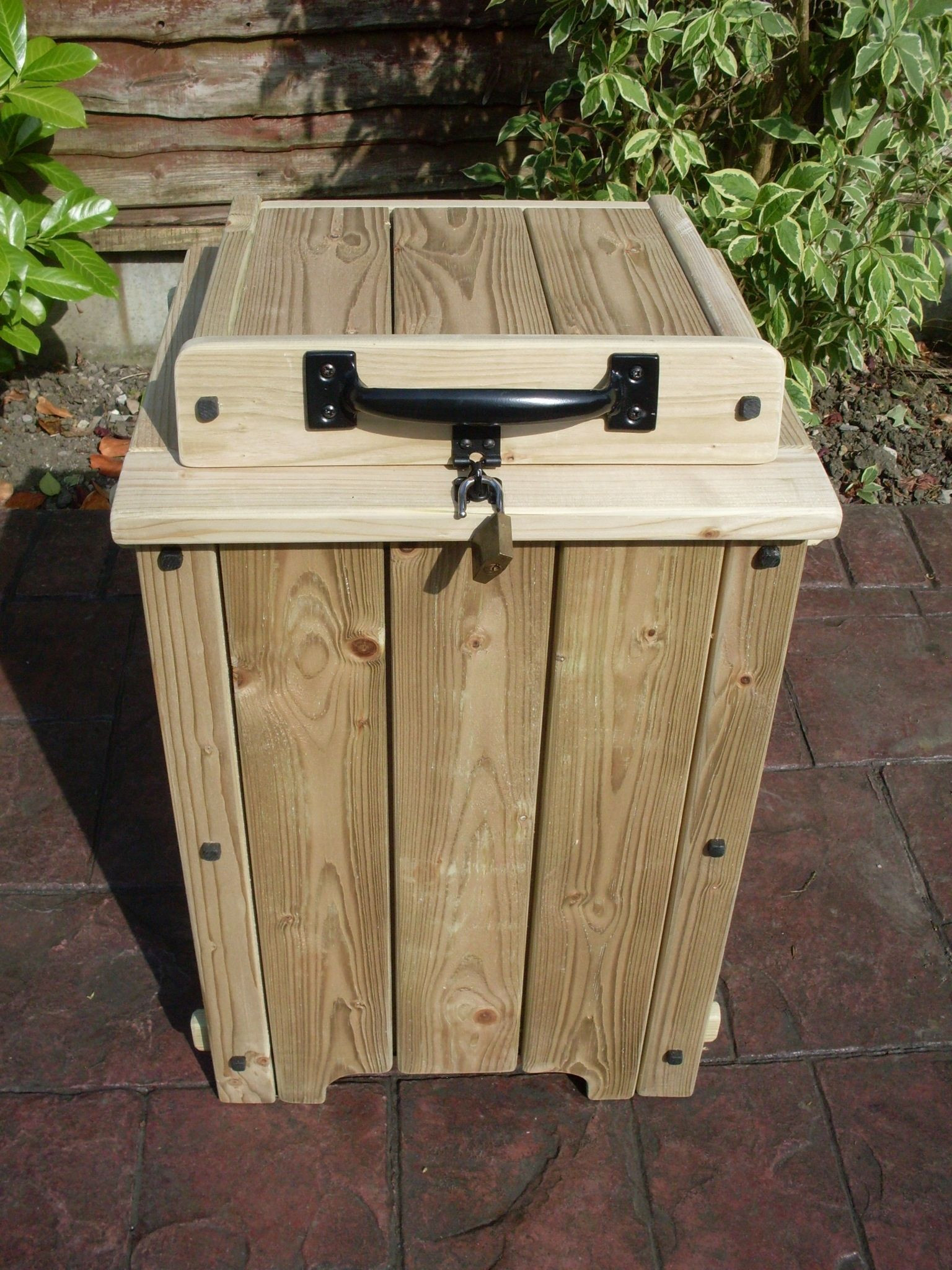 DIY Parcel Box  Parcel drop box KH Garden furniture Sturdy