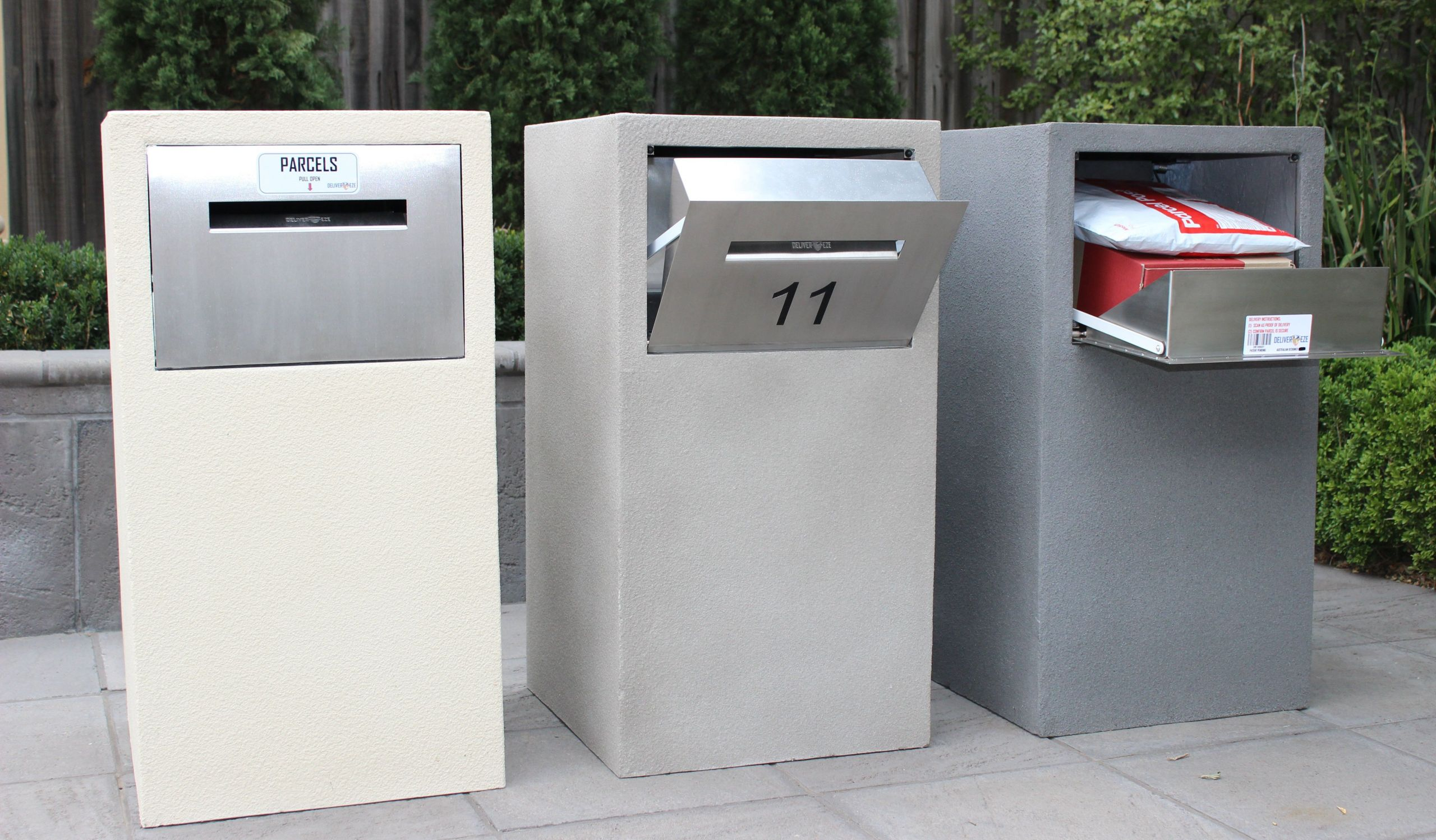 DIY Parcel Box  Stainless Steel Letterbox Parcelbox