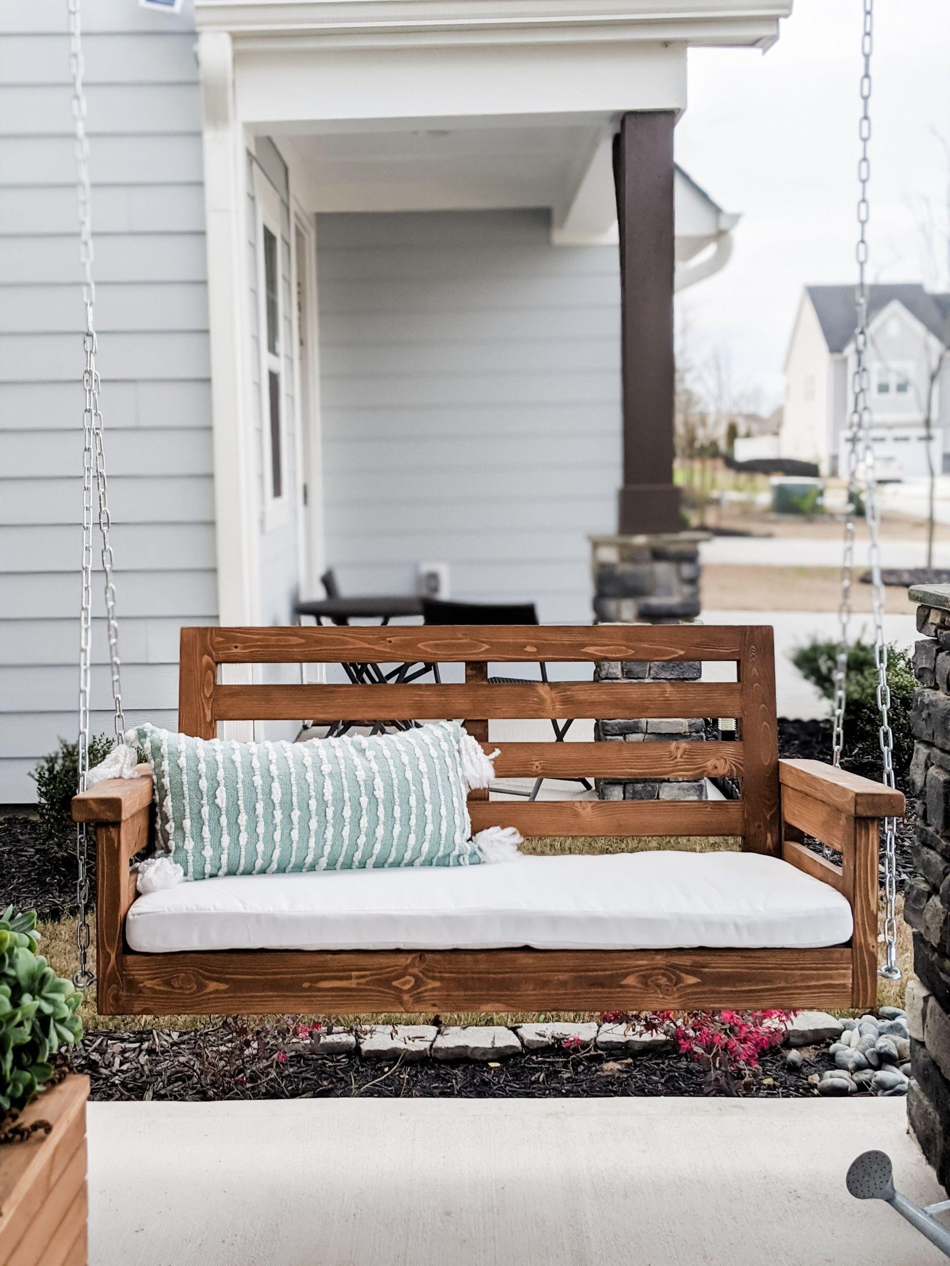 DIY Porch Swing Plans  DIY Porch Swing Plans