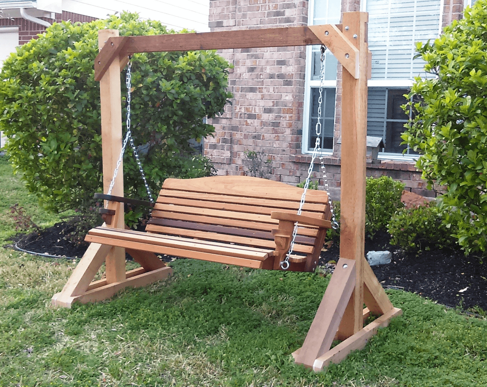 DIY Porch Swing Plans  Simple Tips to Build DIY Wood Porch Swing Frame Plans
