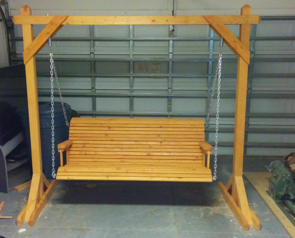 DIY Porch Swing Plans  10 Free Porch Swing Plans