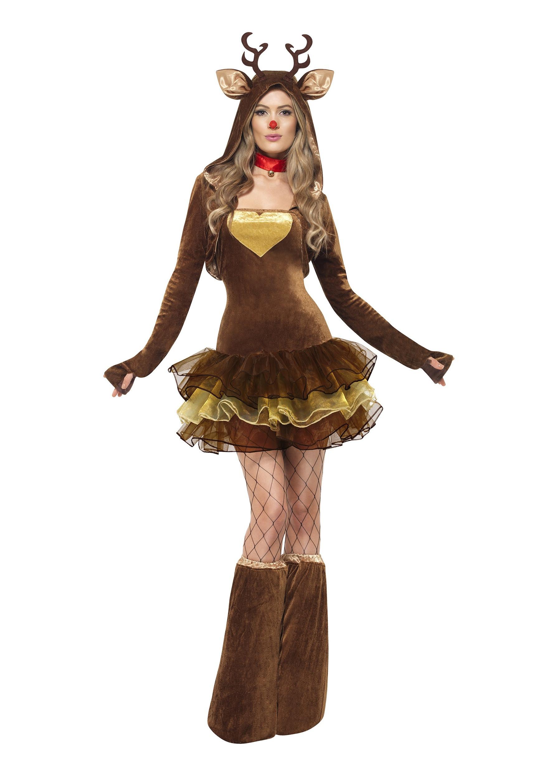 DIY Reindeer Costumes  Womens Reindeer Costume