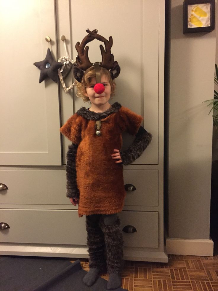 DIY Reindeer Costumes  19 best Child s reindeer costume images on Pinterest