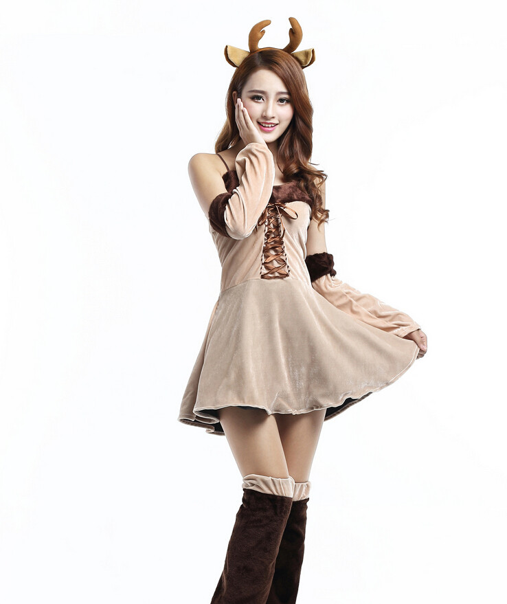 DIY Reindeer Costumes  Reindeer Costumes for Men Women Kids