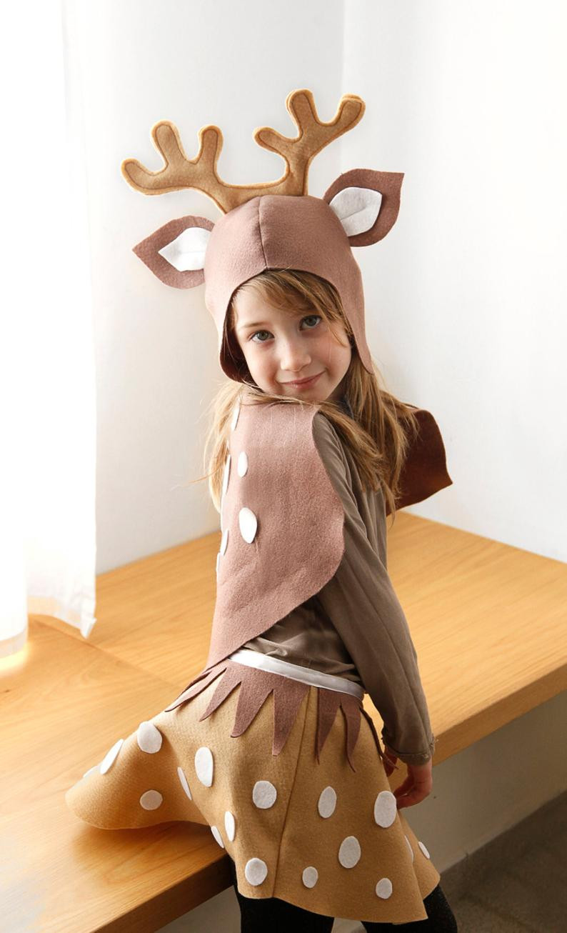 DIY Reindeer Costumes  Reindeer PATTERN DIY costume mask sewing creative play