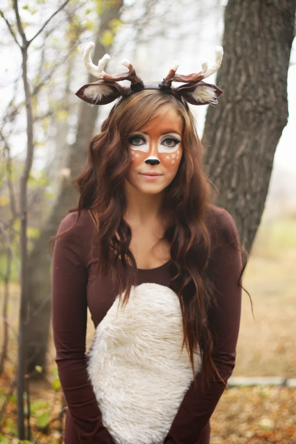 DIY Reindeer Costumes  7 Creative Last Minute DIY Halloween Costumes