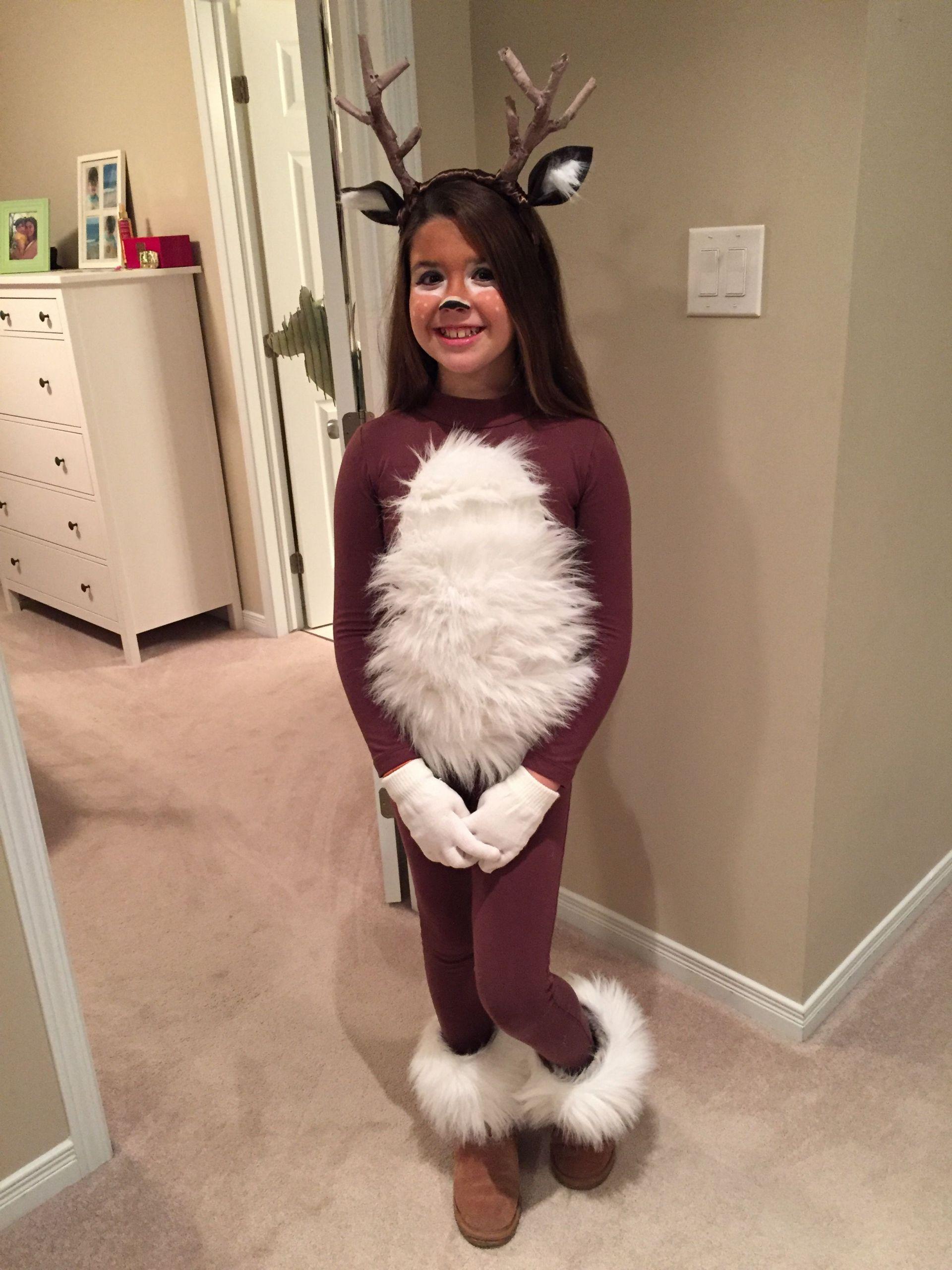 DIY Reindeer Costumes  Deer costume DIY