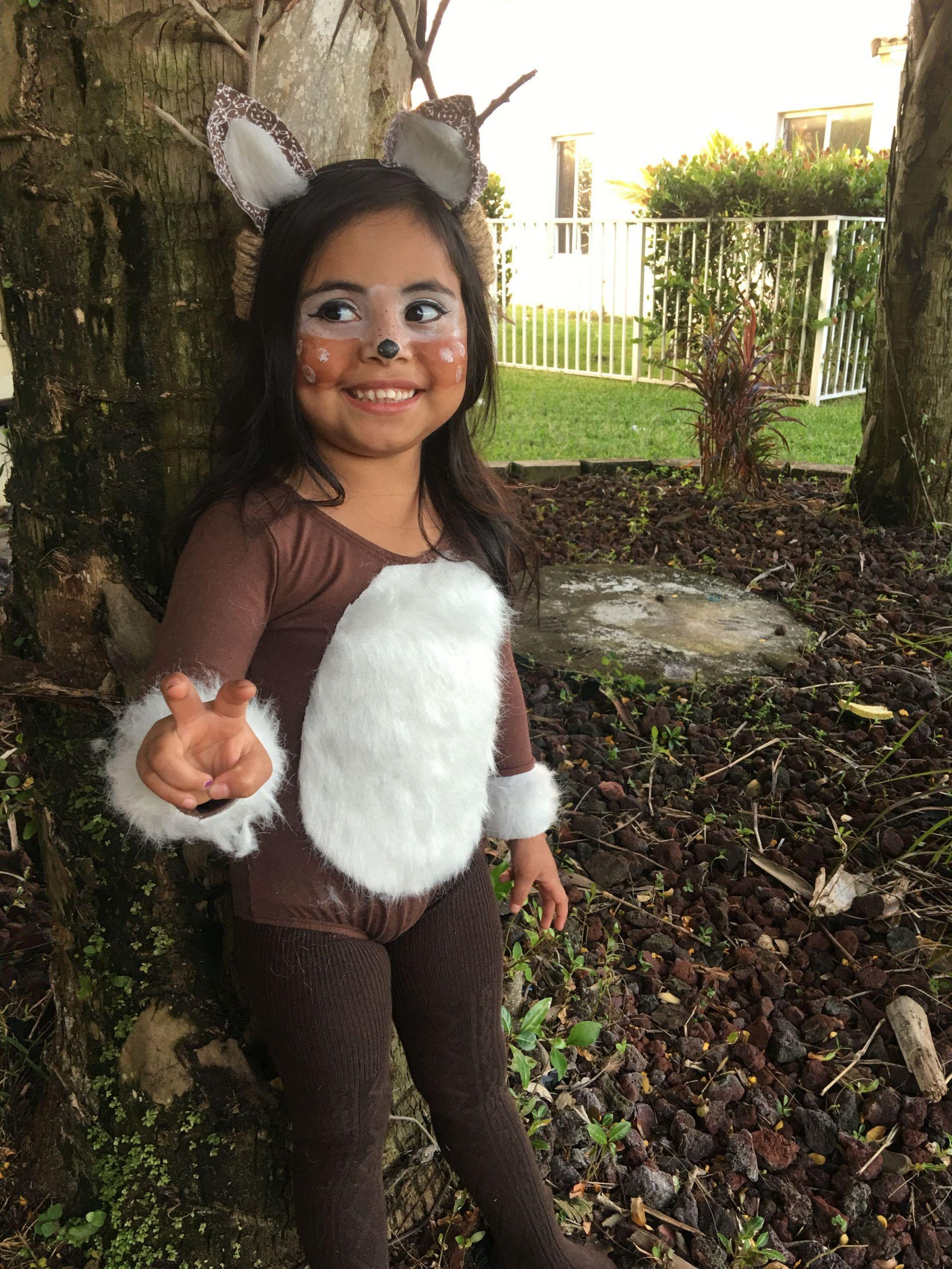 DIY Reindeer Costumes  Reindeer Doe Costume Halloween DIY …
