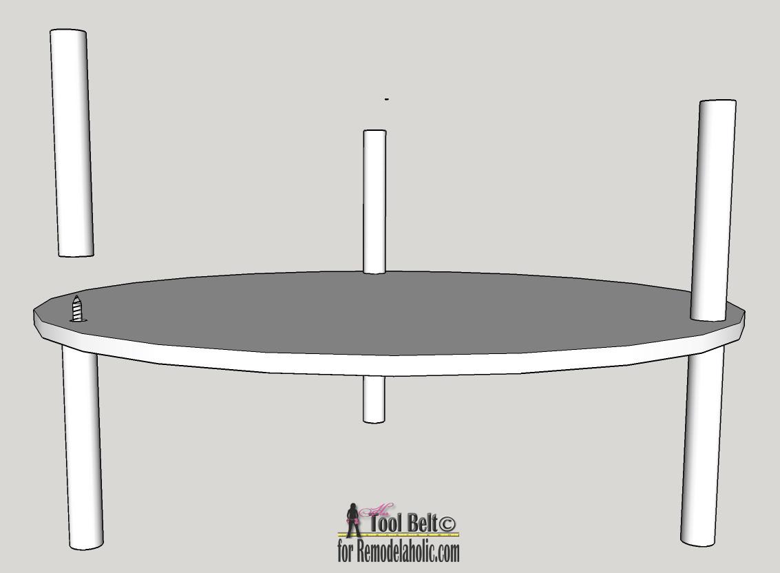 DIY Rotating Shoe Rack  Remodelaholic