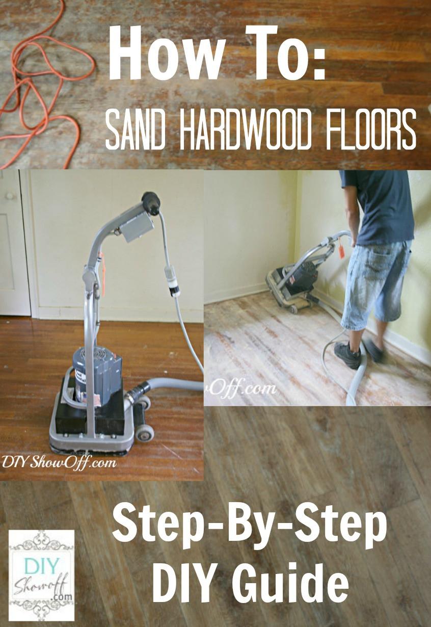 DIY Sanding Hardwood Floors  sanding hardwood floors Archives DIY Show f ™ DIY