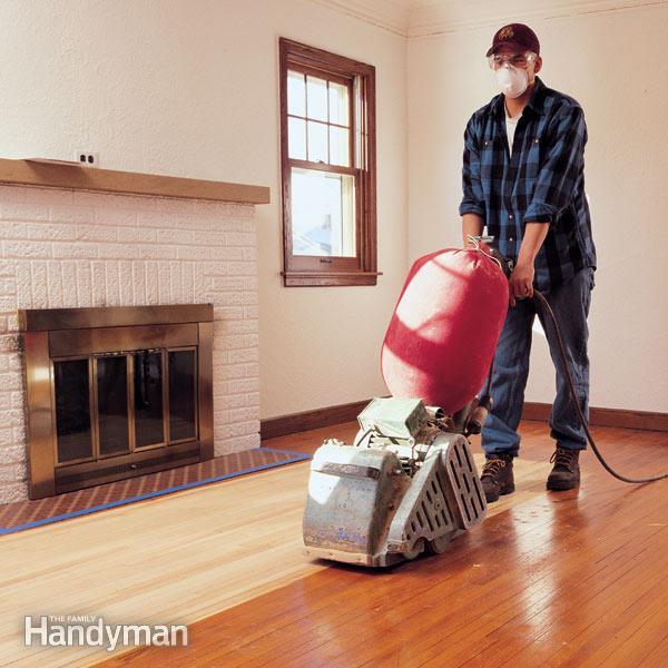 DIY Sanding Hardwood Floors  Hardwood Floor Sanding Do It Yourself Tips The Family