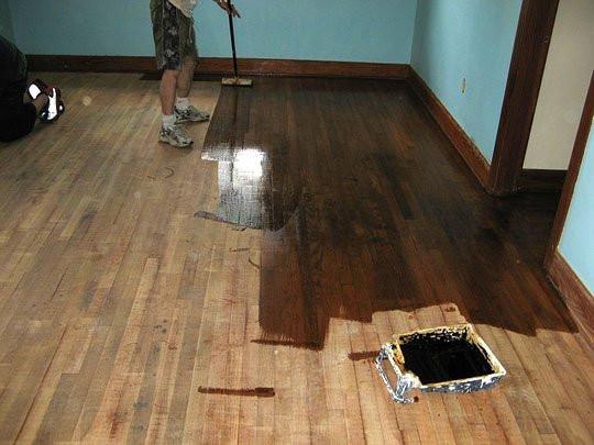 DIY Sanding Hardwood Floors  How To Refinish Wood Floors 11 Cool DIYs Shelterness