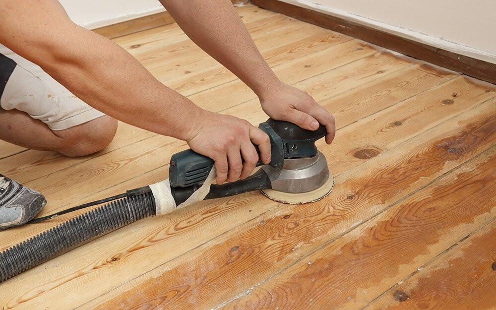 DIY Sanding Hardwood Floors  Bud Friendly Ways to Sand and Refinish Your Hardwood