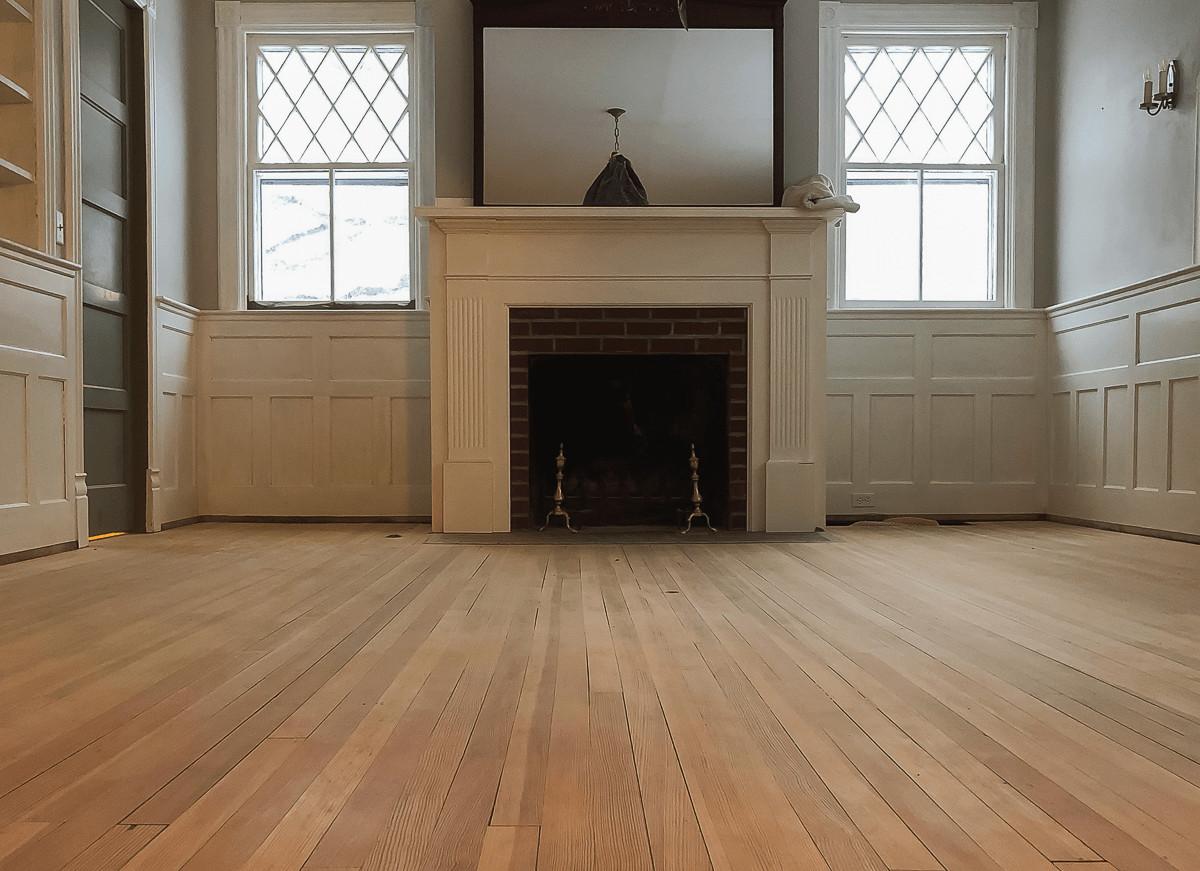 DIY Sanding Hardwood Floors  Sanding Hardwood Floors Blake Hill House How To DIY