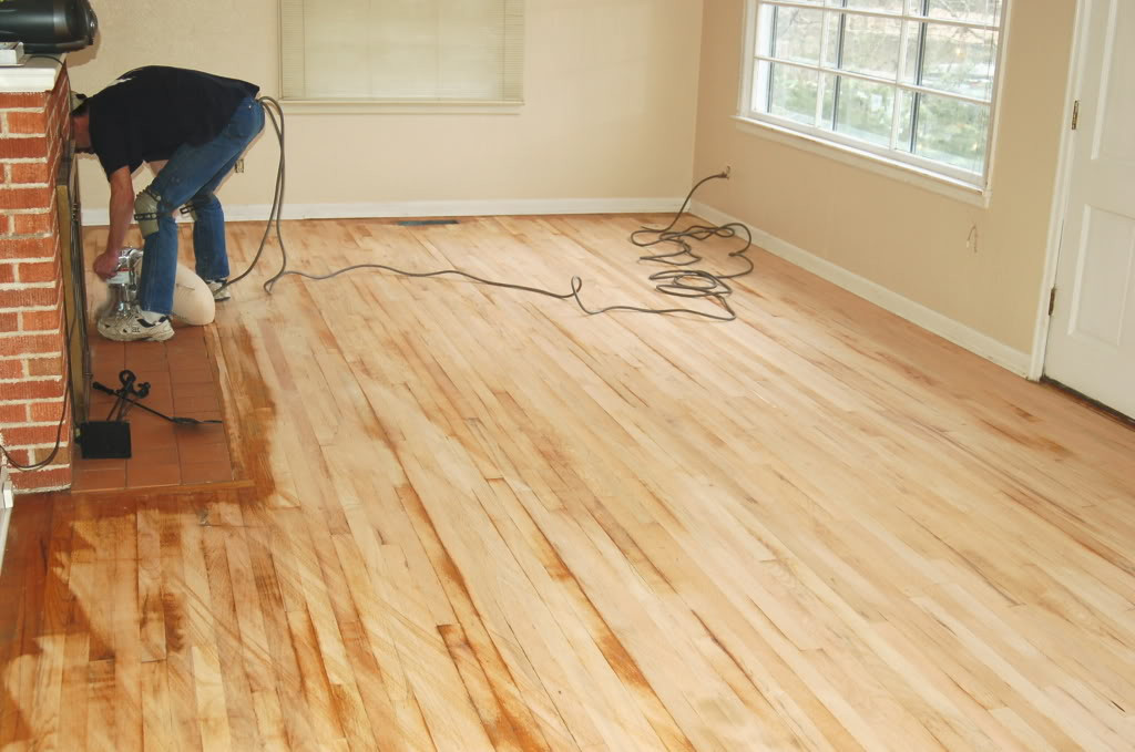 DIY Sanding Hardwood Floors  Should I refinish my own Hardwood Floors Should I try and