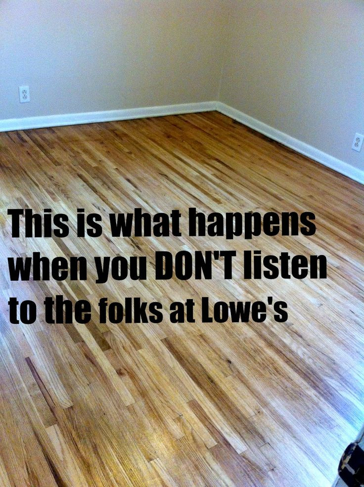 DIY Sanding Hardwood Floors  This is what happens when you DON T listen to the folks at