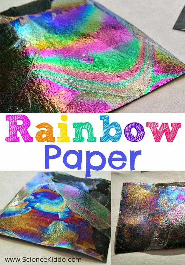 DIY Science Projects For Adults  36 DIY Rainbow Crafts That Will Make You Smile All Day Long