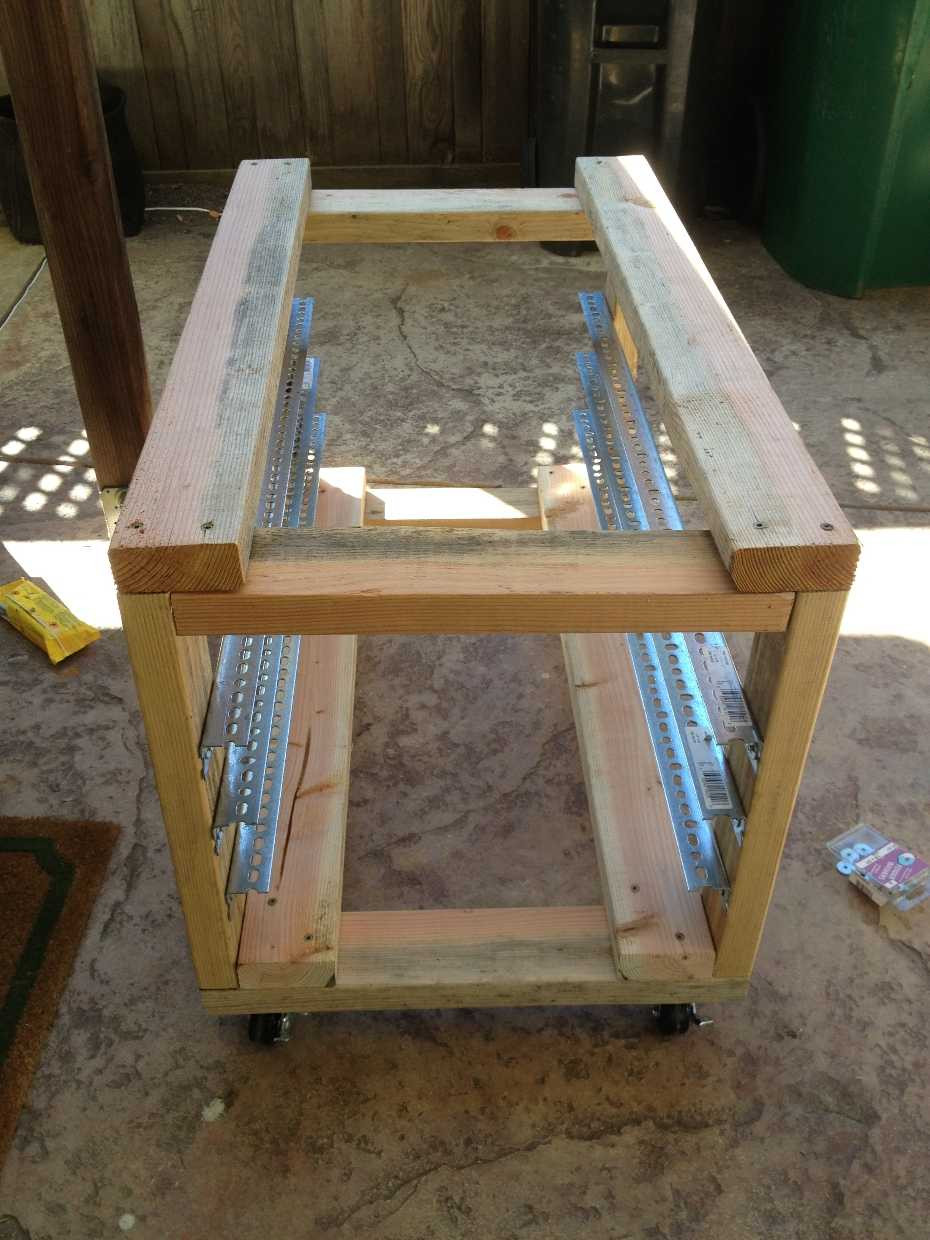 DIY Server Rack  DIY 2×4 Server Rack on Wheels – Scott Pustay