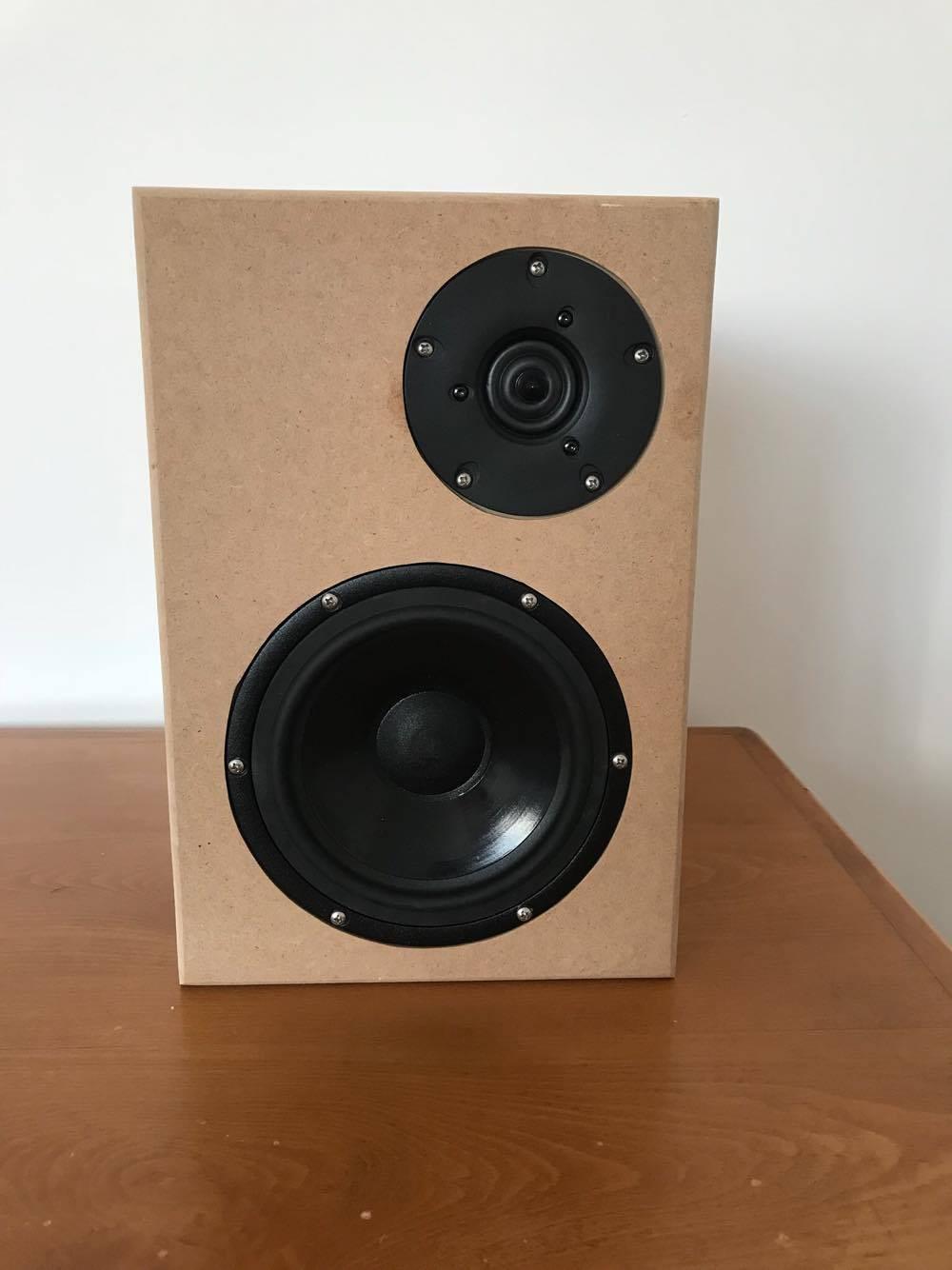 DIY Speaker Box  DIY speaker plans 2 way bookshelf kit
