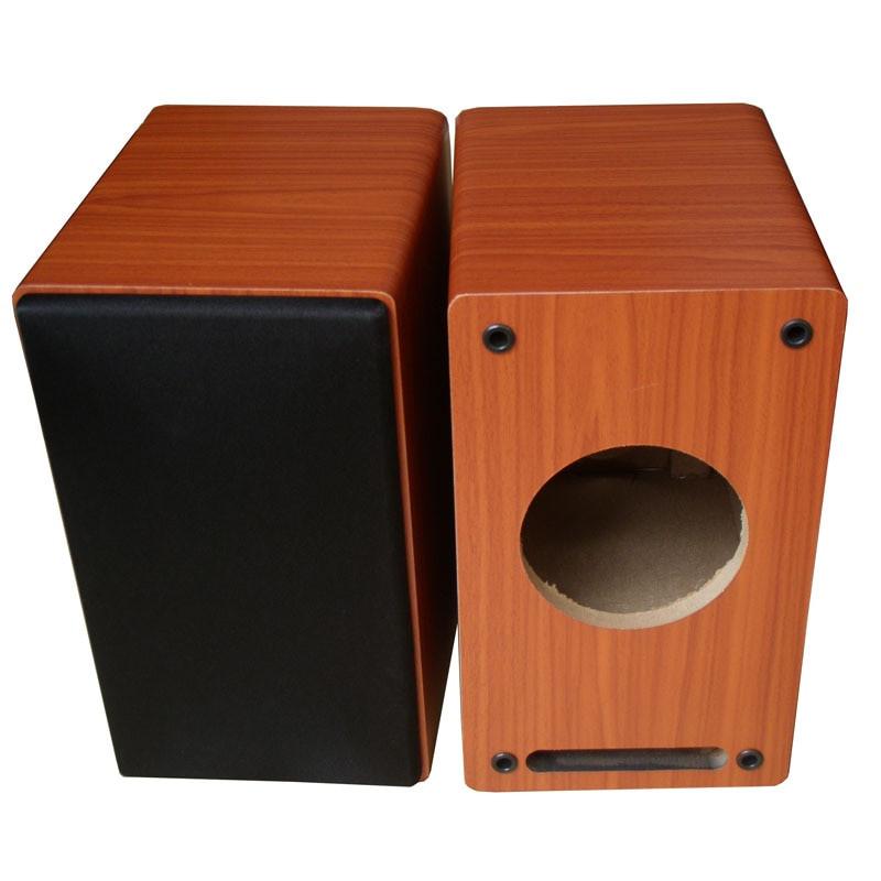 DIY Speaker Box  Empty 4 inch wooden speaker box passive subwoofer speaker