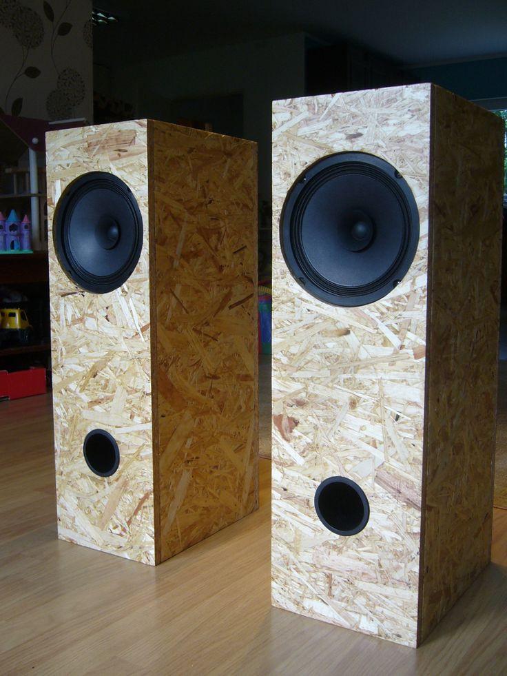 DIY Speaker Box  802 best Box speakers images on Pinterest
