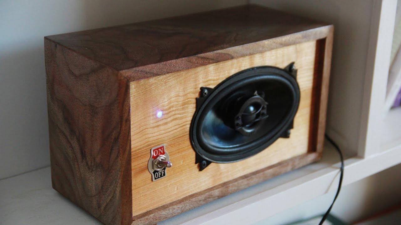 DIY Speaker Box  DIY Bluetooth Speaker