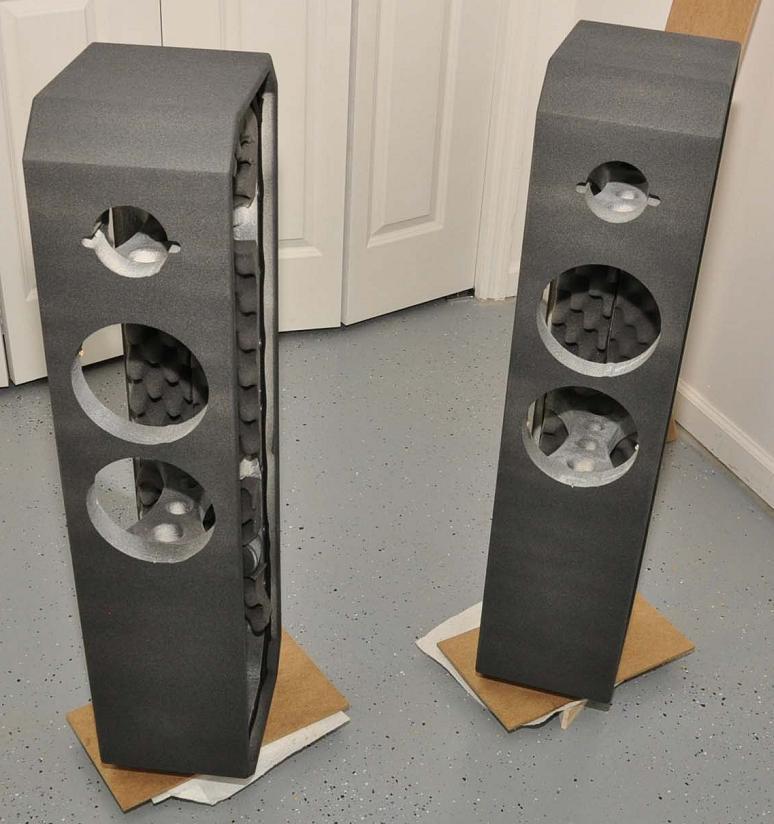 DIY Speaker Box  Ion DIY 2 Way TMM Tower Loudspeaker Project