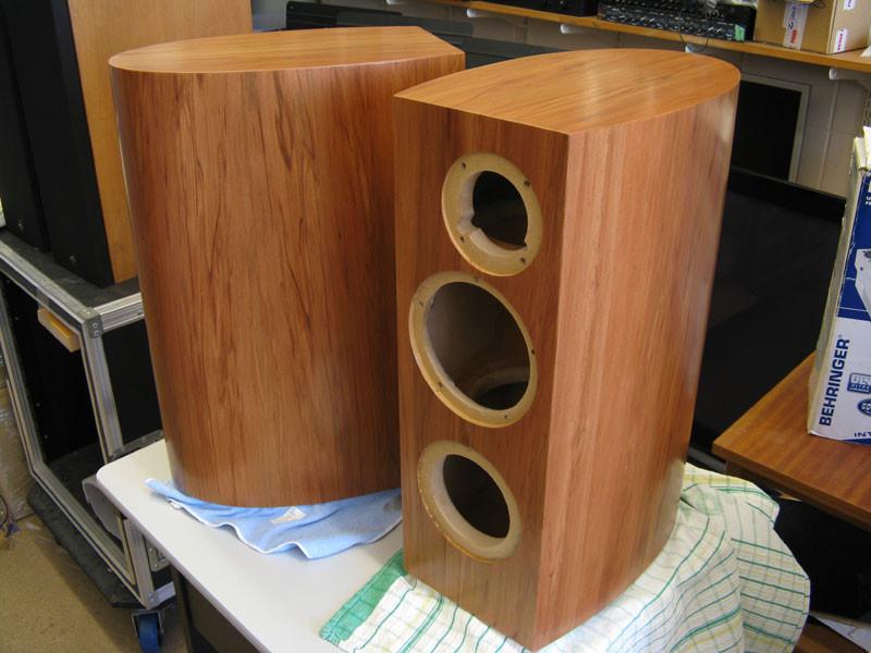 DIY Speaker Box  Clearwave RBR curved cabinet build diyAudio