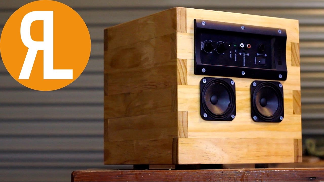DIY Speaker Box  DIY Speaker From Reclaimed ponents