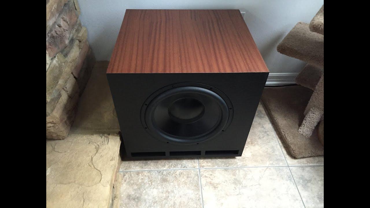 DIY Speaker Box  DIY Subwoofer