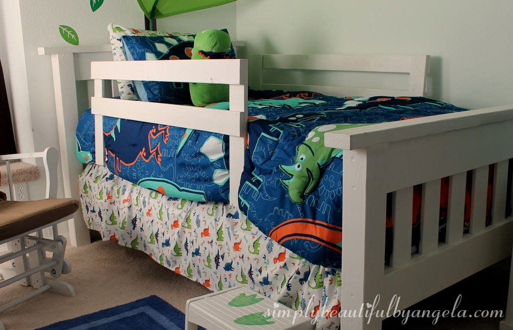 DIY Toddler Bed Rails  DIY Toddler Bed Rails