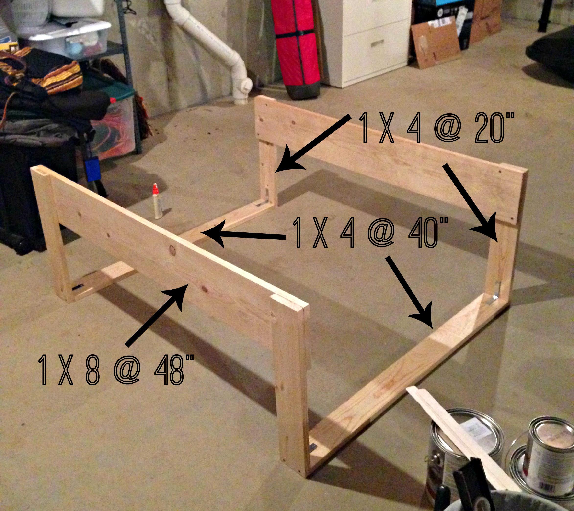DIY Toddler Bed Rails  DIY Toddler Bed Rails cypress wool