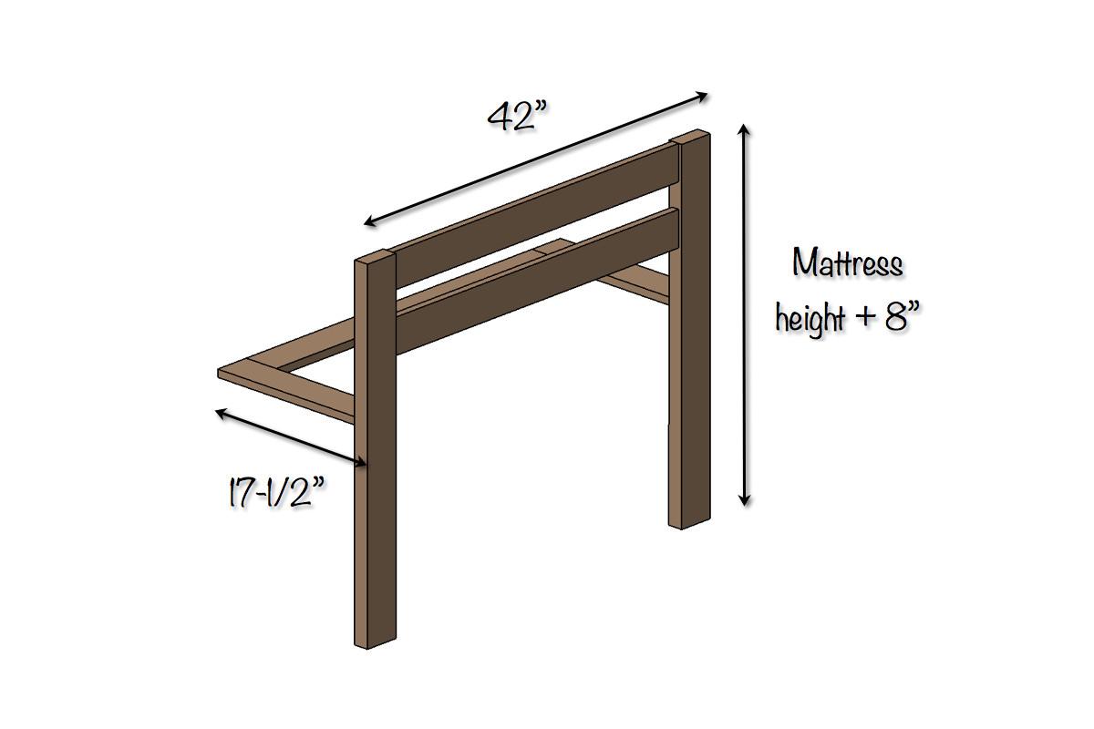 DIY Toddler Bed Rails  DIY Toddler Bed Rail Free Plans