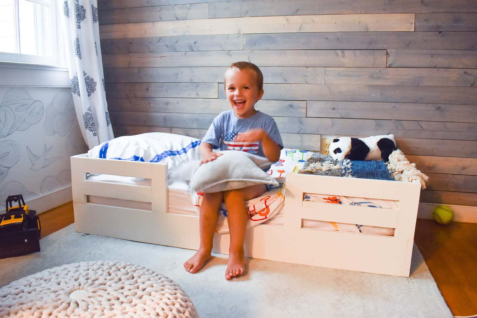 DIY Toddler Bed Rails  How to Build a Toddler Bed with Bed Rails At Charlotte s