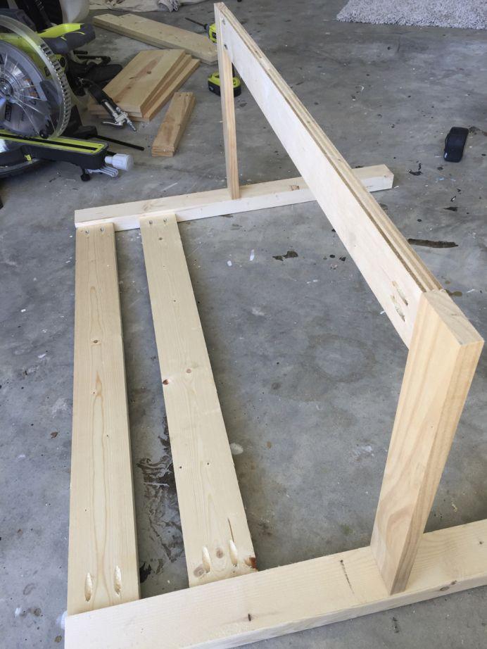 DIY Toddler Bed Rails  Toddler Bed Rail