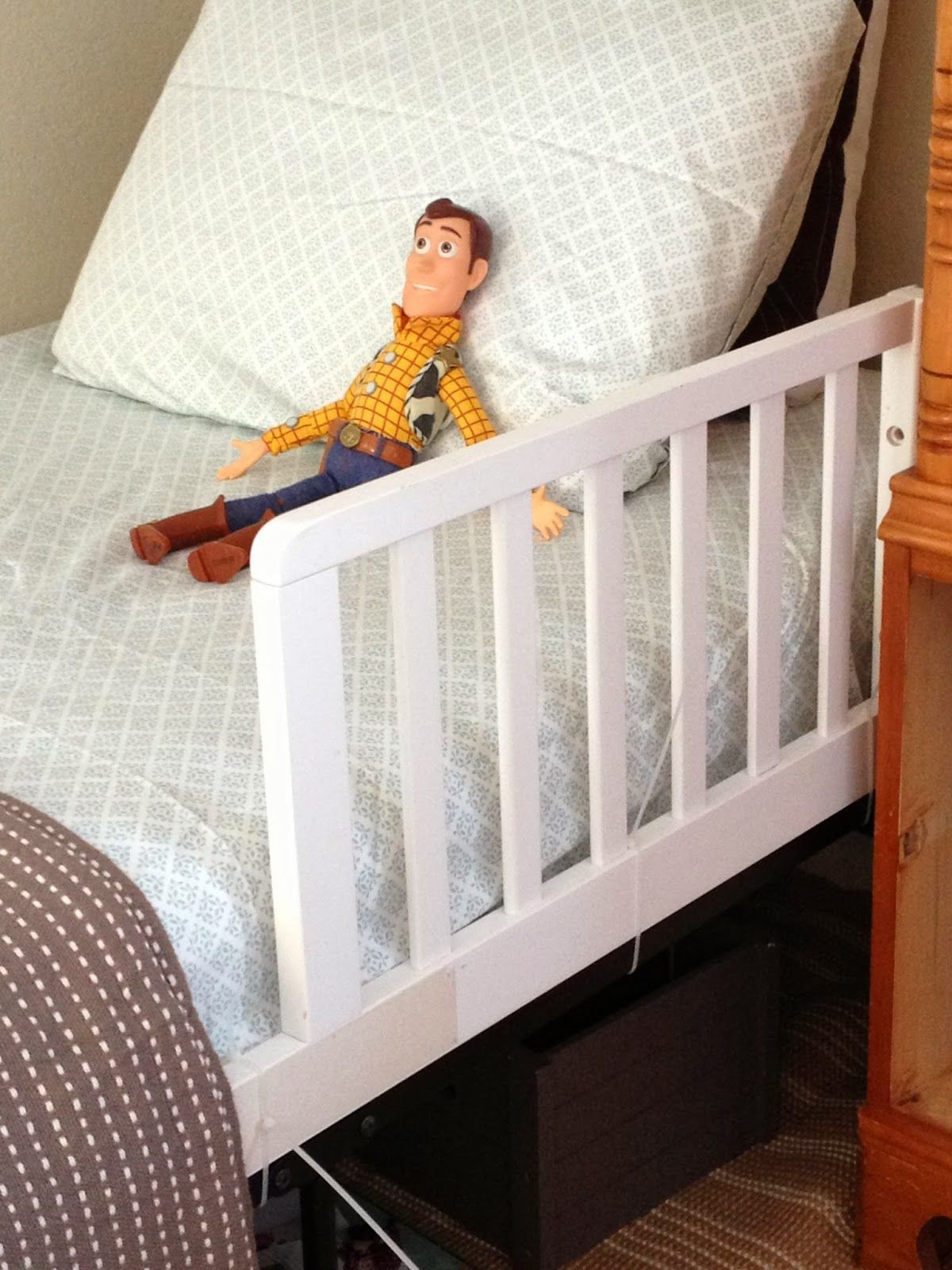 DIY Toddler Bed Rails  Boys Bedroom Bed frame for life