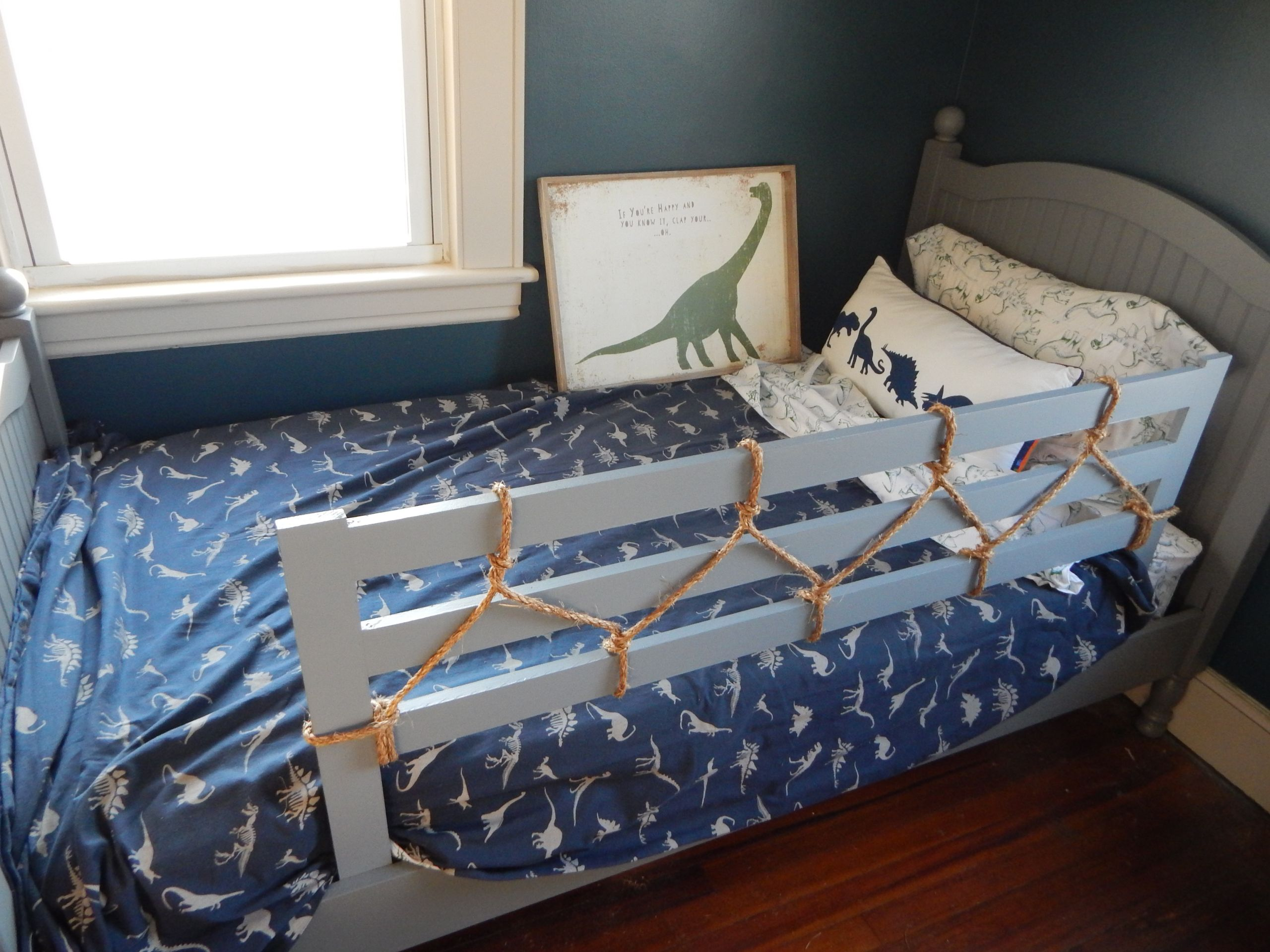 DIY Toddler Bed Rails  Toddler Bed Rail – a little diy