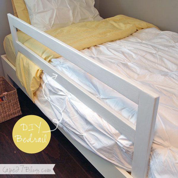 DIY Toddler Bed Rails  Zoey s Never Before Seen Bedroom