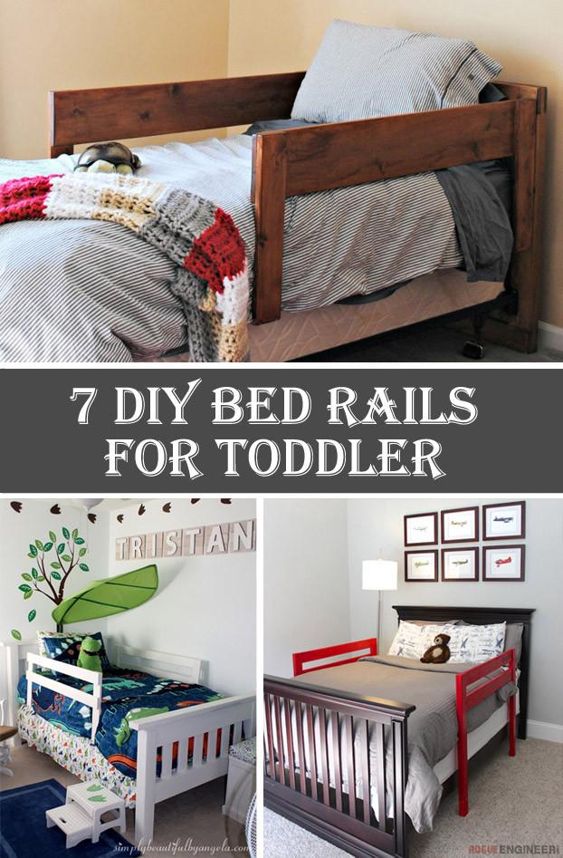 DIY Toddler Bed Rails  7 DIY Bed Rails for Toddler Cool DIYs
