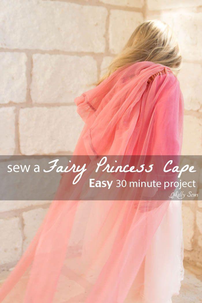 DIY Toddler Cape Pattern  Easy Princess Cape Tutorial