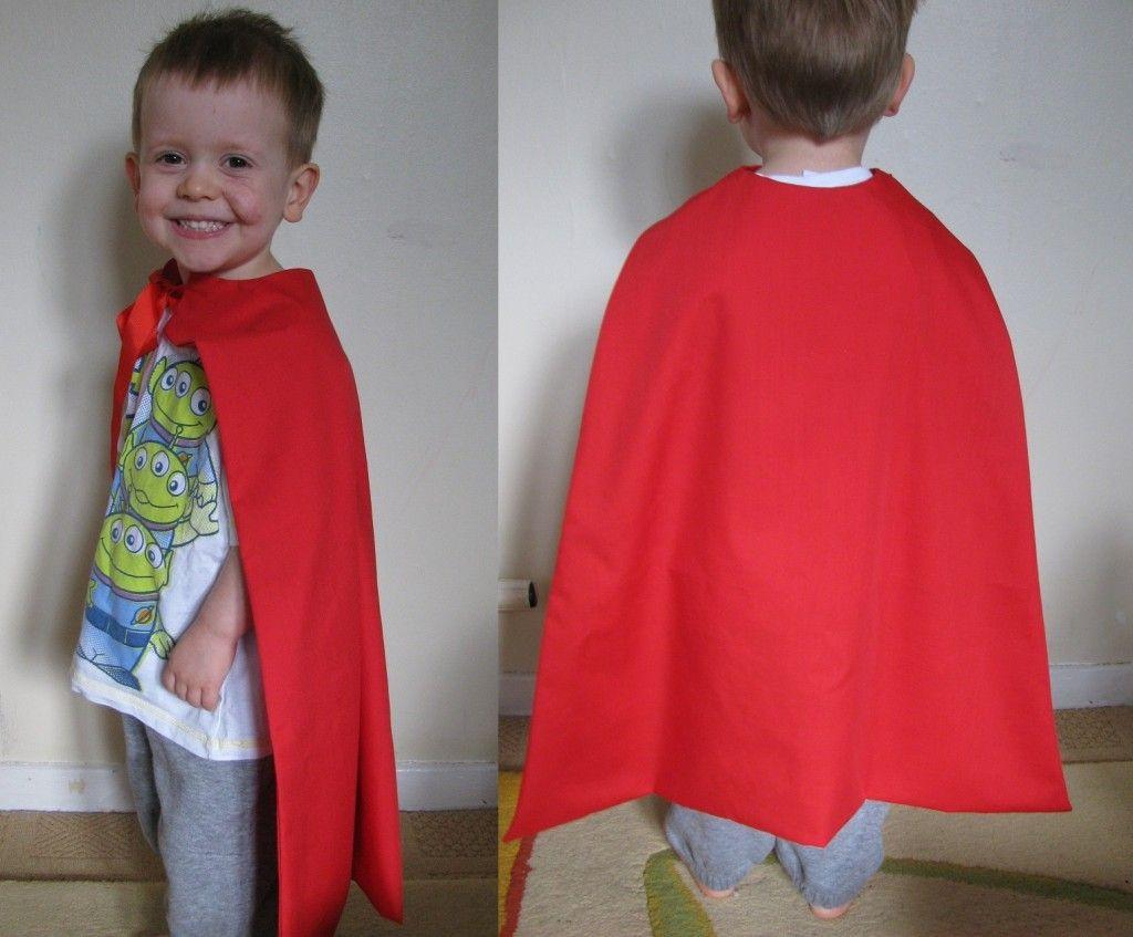 DIY Toddler Cape Pattern  Pin on kid stuff
